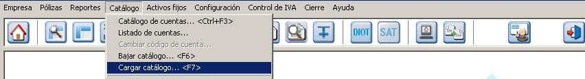 Como crear un catalogo de cuentas en contpaq i
